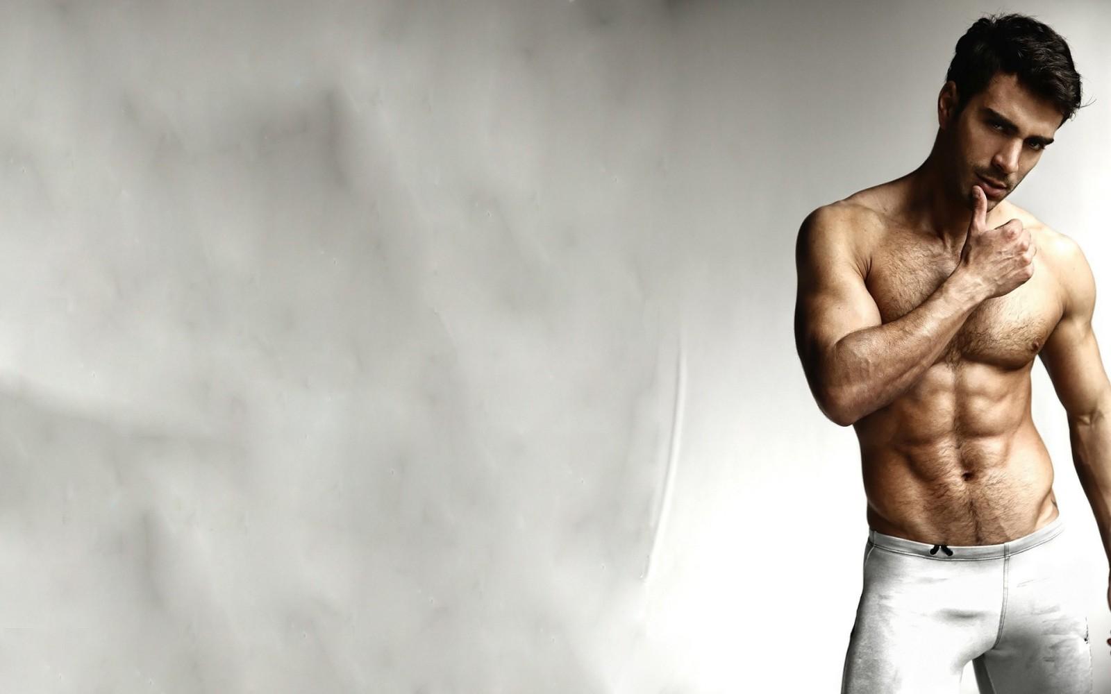 Tattoos Men Abs Trunks Pecs Muscle Gay Wallpaper