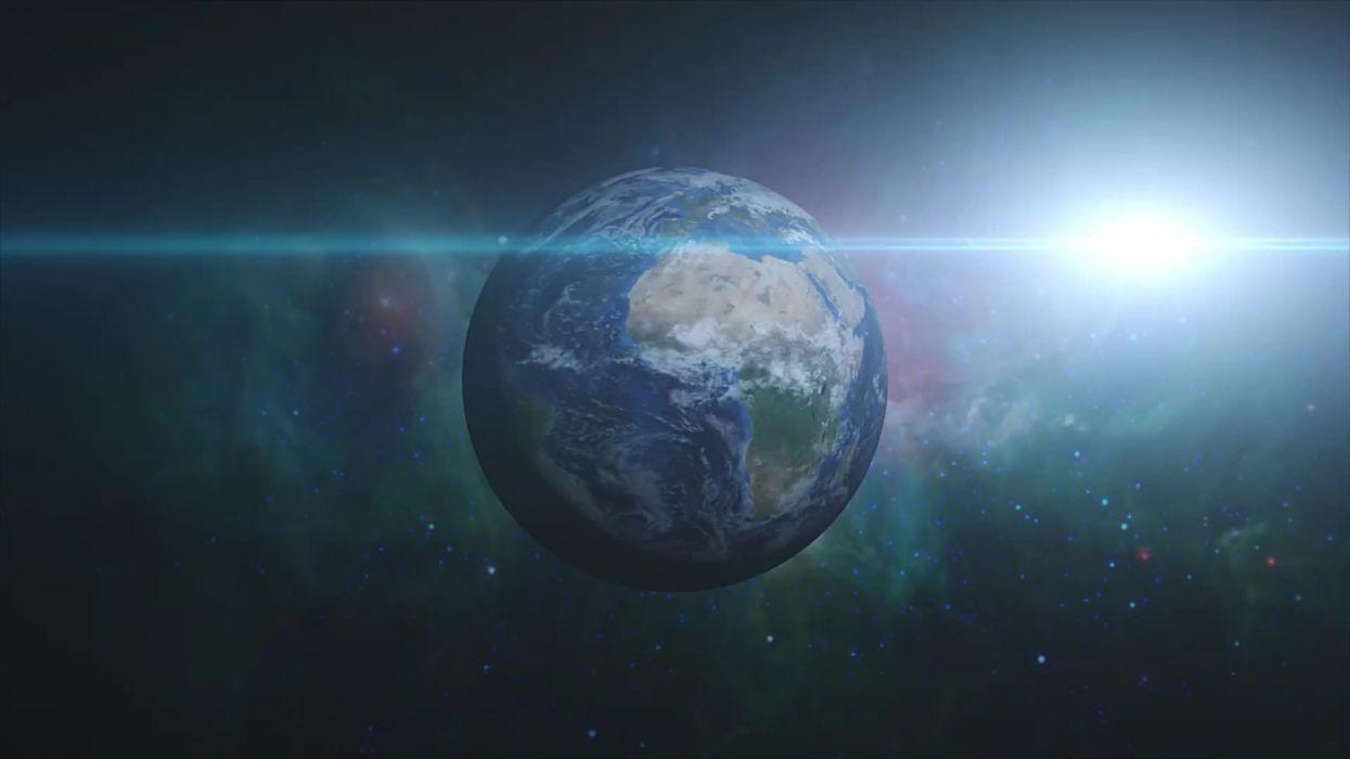 planeta tierra sol espacio naturaleza wallpaper