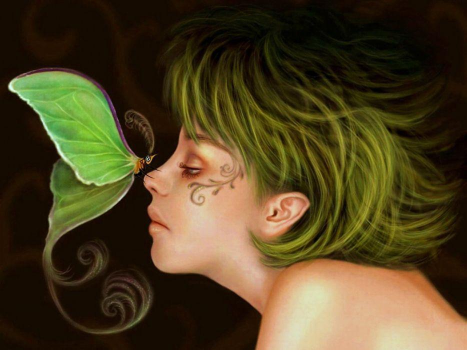 Ночи группа, картинки фэнтези девушки бабочки взгляд