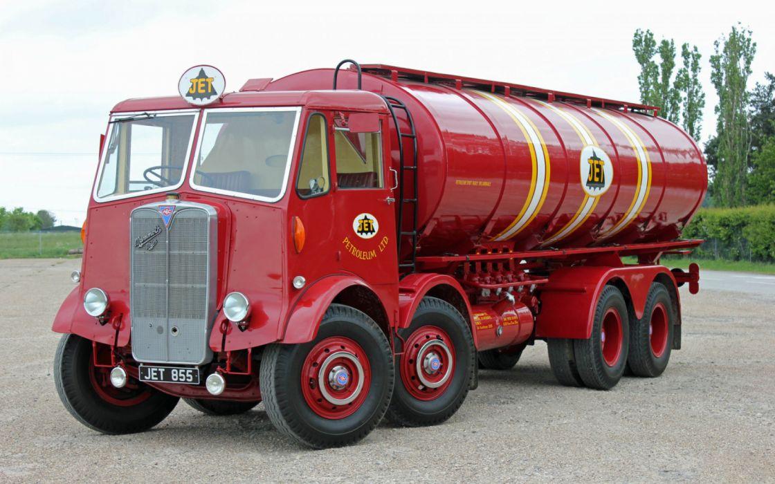 camion antiguo cisterna rojo wallpaper