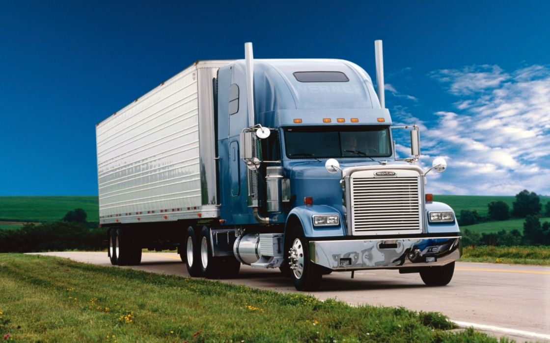 camion frigorifico transportes wallpaper