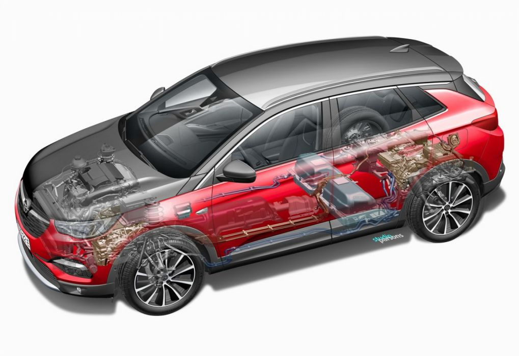 Opel Grandland X Hybrid4 (2019) wallpaper