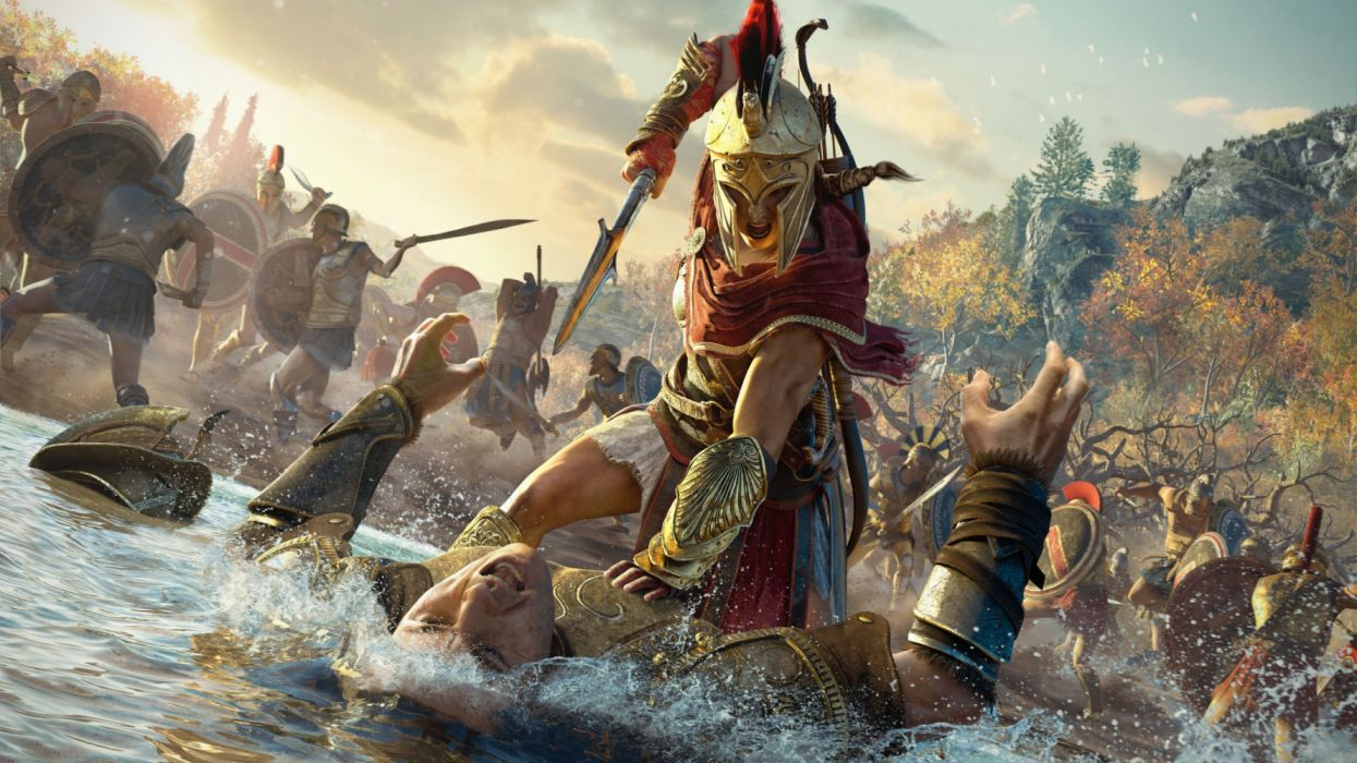Kassandra Assassins Creed Odyssey 4k Videogames Wallpaper
