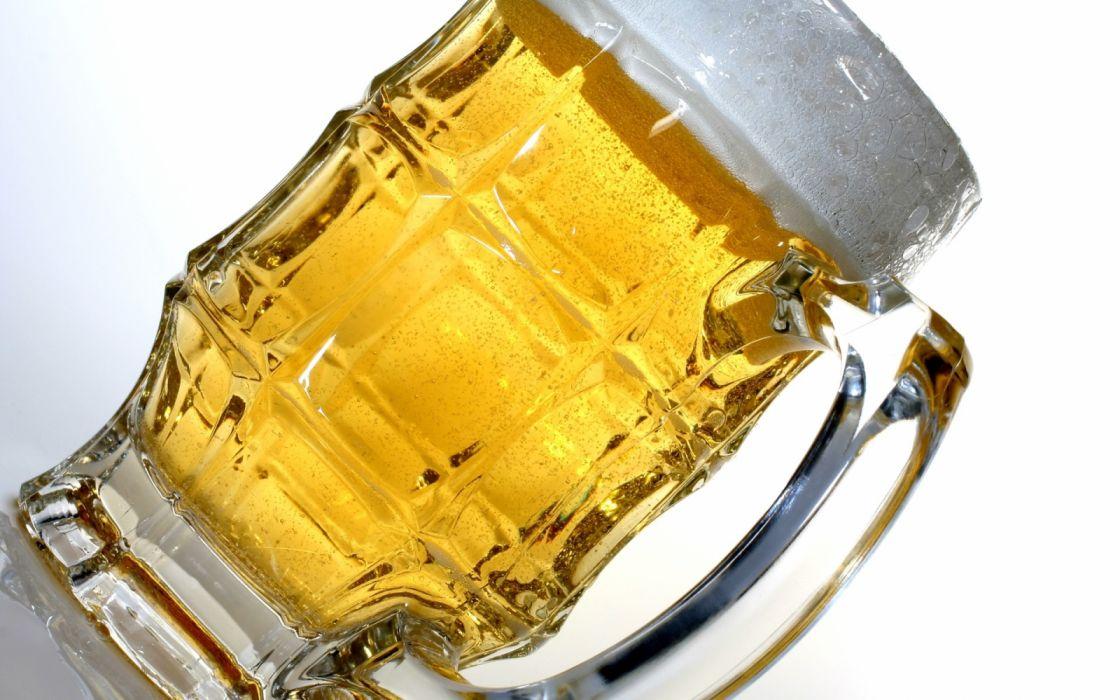 jarra cerveza vidrio wallpaper
