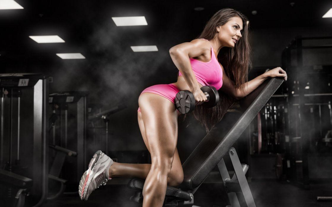 Fitness Model Gym Girl Wallpaper 1920x1200 1342536