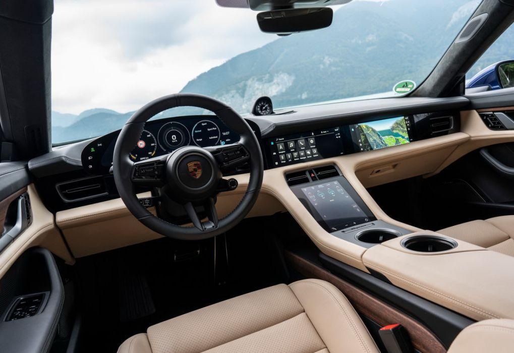 Porsche Taycan Turbo (2020) wallpaper