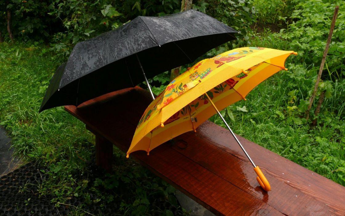 water rain drops summer objects nature widescreen wallpaper