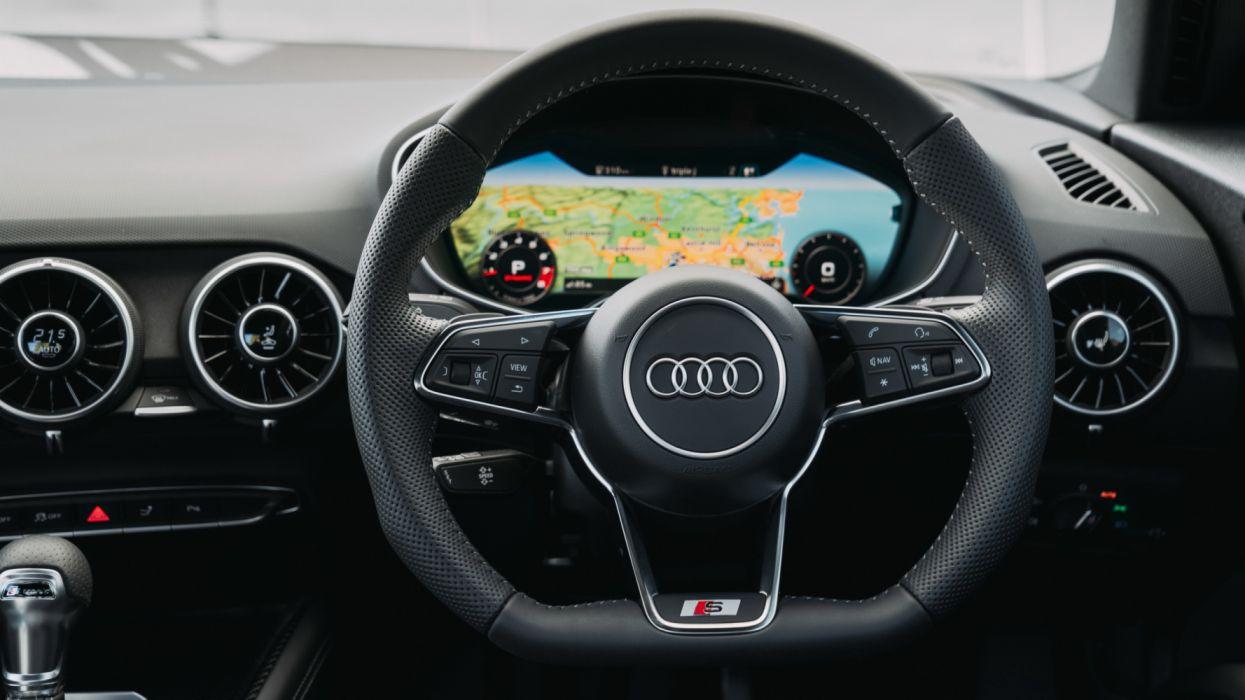 audi tts coupe 2019 4k interior-HD wallpaper