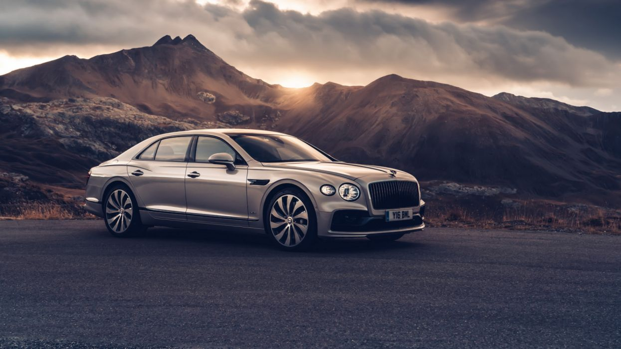 bentley flying spur blackline 2019 5k 2-HD wallpaper