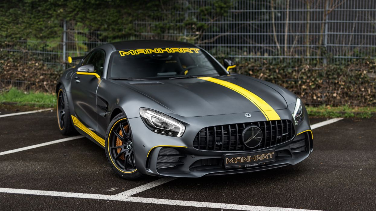 manhart mercedes amg gt r 2019 4k-HD wallpaper