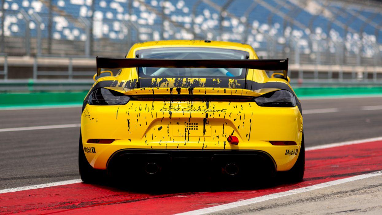 Porsche 718 Cayman Gt4 Clubsport 2019 4k 6 Hd Wallpaper 5120x2880 1356867 Wallpaperup