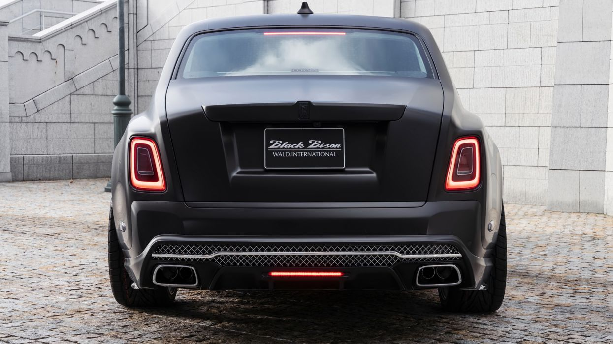 Wald Rolls Royce Phantom Sports Line Black Bison Edition 2019 4k 3 Hd Wallpaper 2048x1152 1357052 Wallpaperup