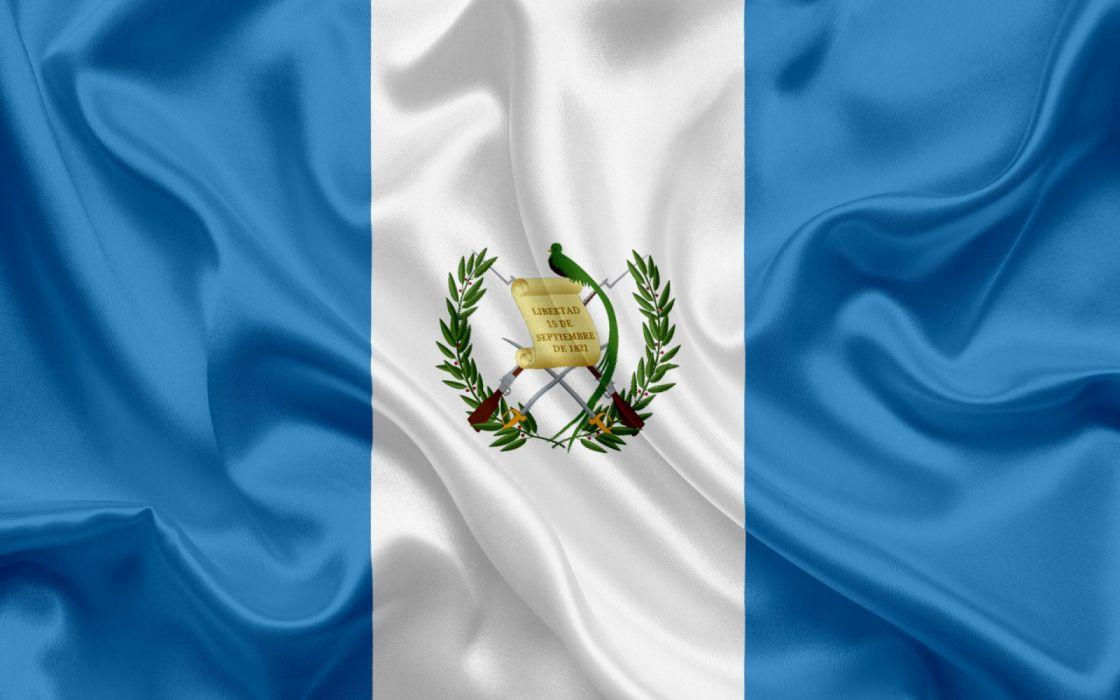 bandera guatemala centroamerica wallpaper