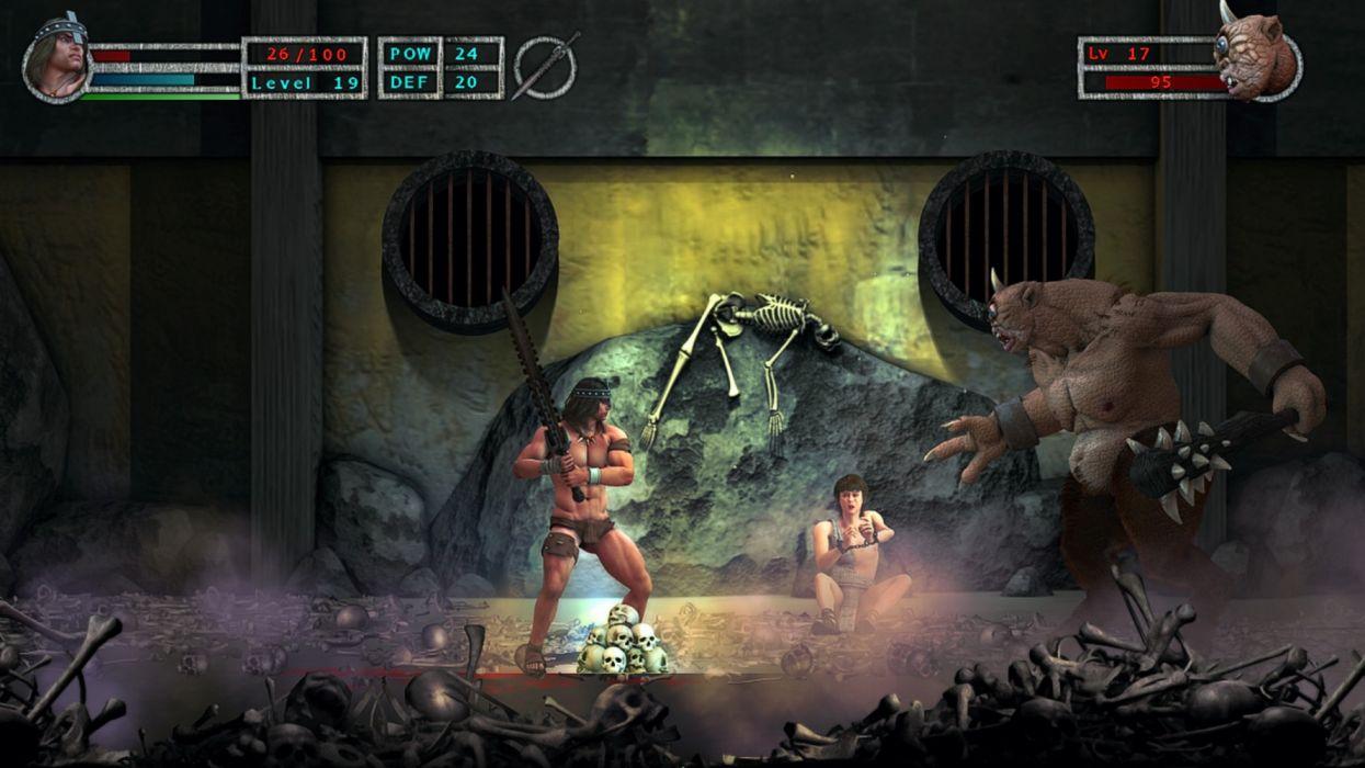 videogames agg of barbarian wallpaper