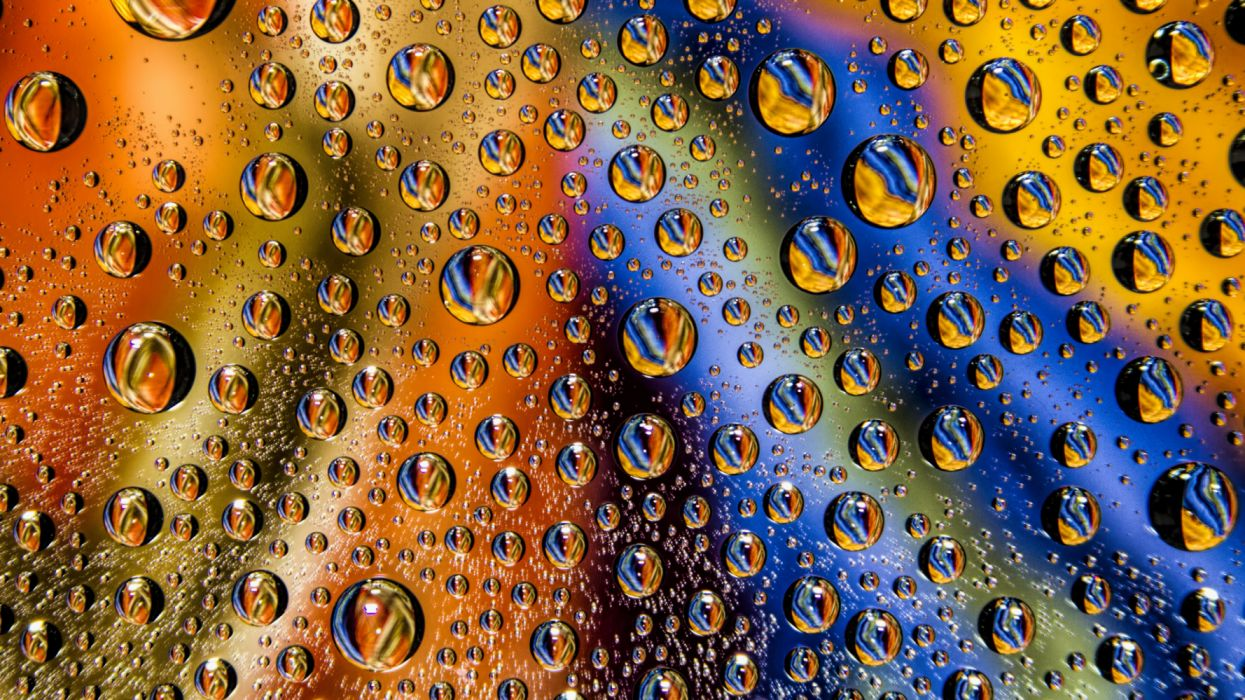 drops wet surface abstract texture wallpaper