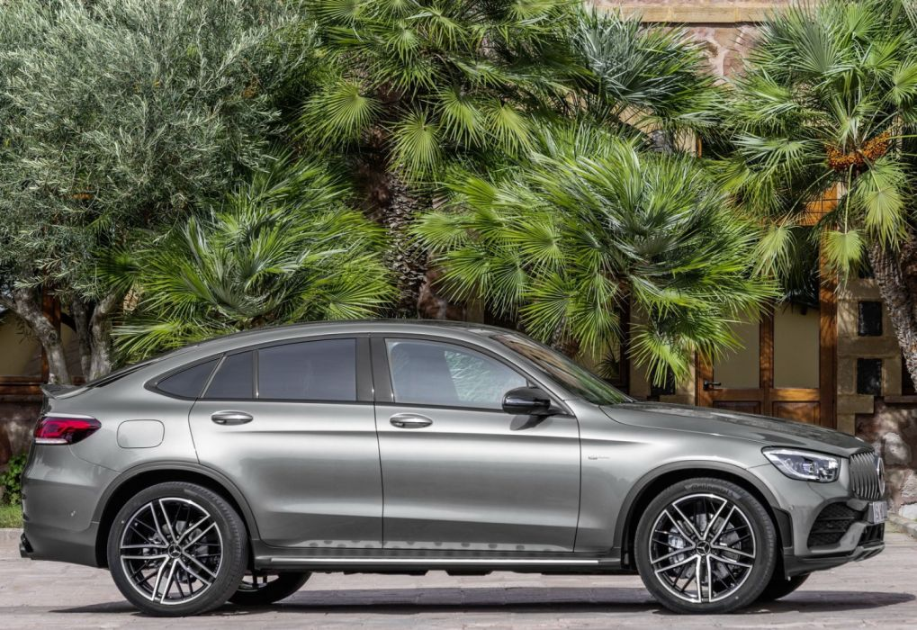 Mercedes-Benz GLC43 AMG 4Matic Coupe (2020) wallpaper