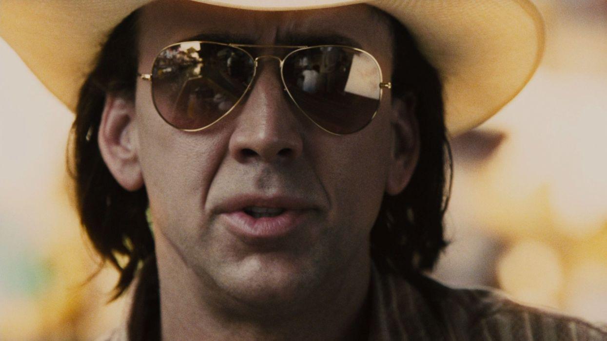 Nicolas Cage actor americano gafas sombrero wallpaper