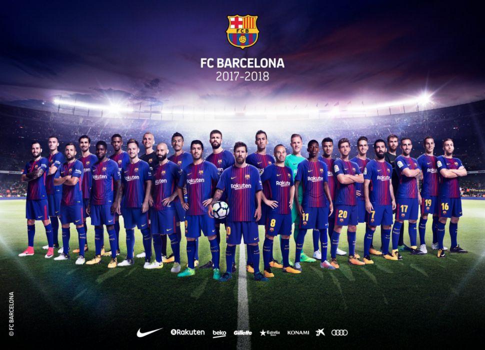 fc barcelona temporada 2017-18 wallpaper