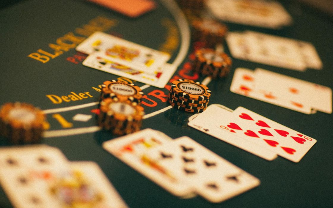 Poker casino playing cards casino chips poker table wallpaper | 1920x1200 | 1377917 | WallpaperUP
