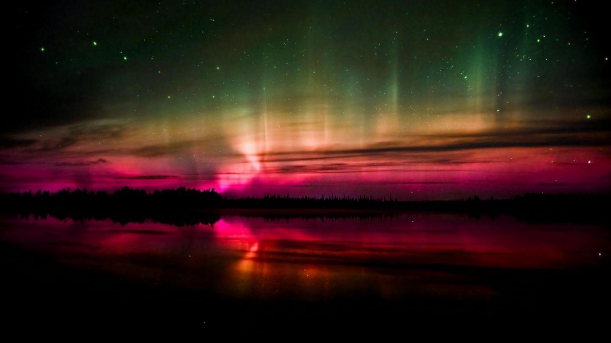 naturaleza artico aurora boreal wallpaper