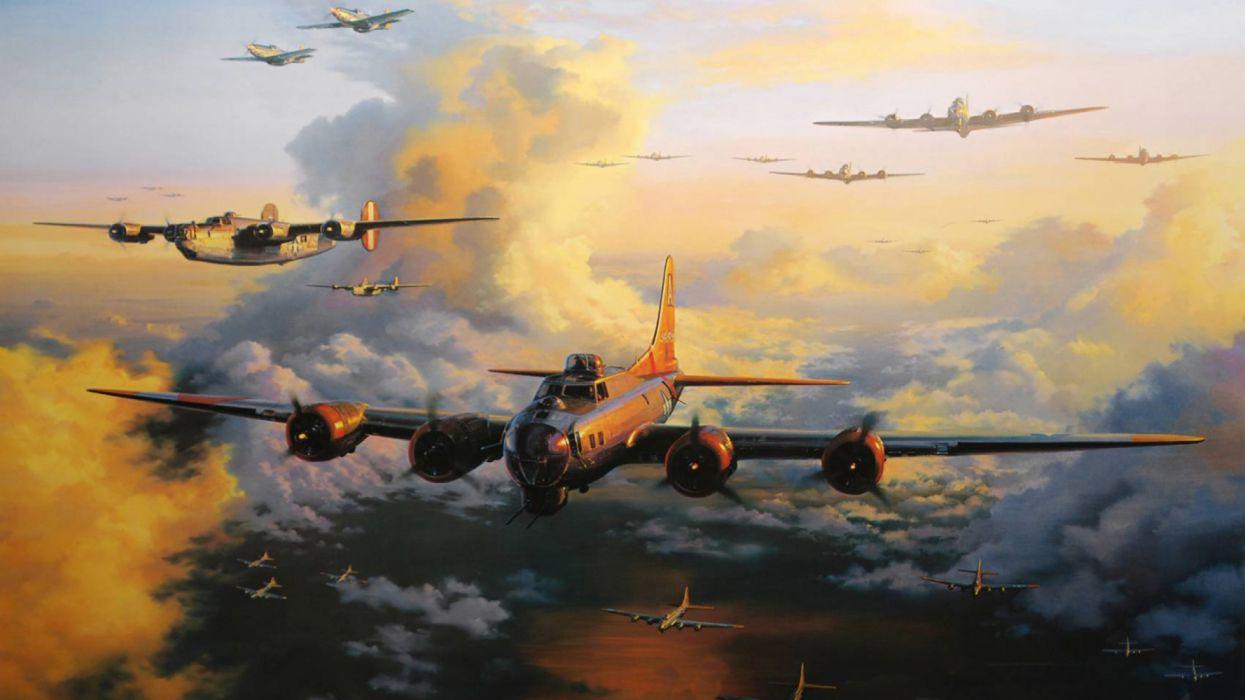 aviones bombarderos 2 guerra mundial wallpaper