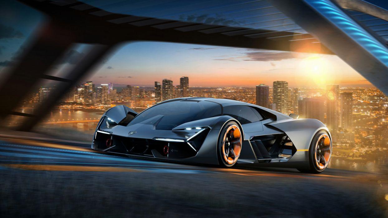2017 Lamborghini Terzo Millennio Concept wallpaper