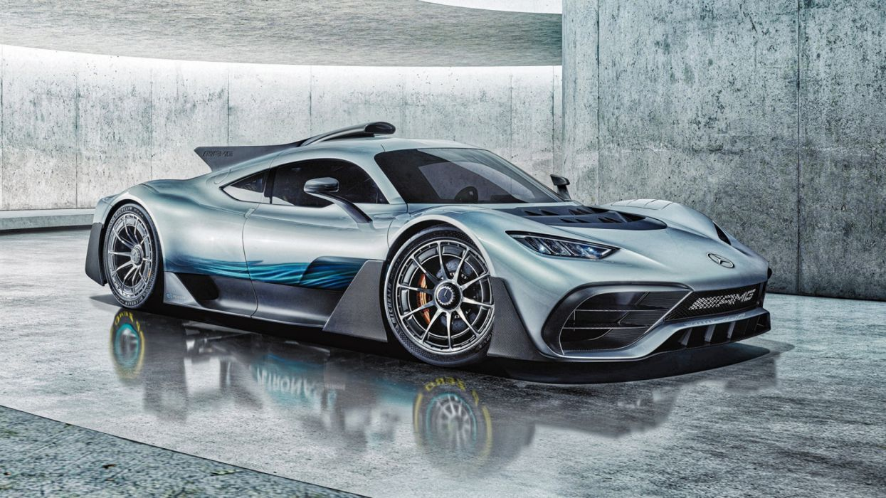 Mercedes-Benz Concep amg Project oneSide wallpaper
