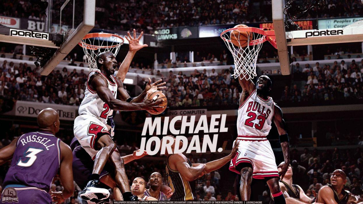 Michael Jordan sport basket wallpaper
