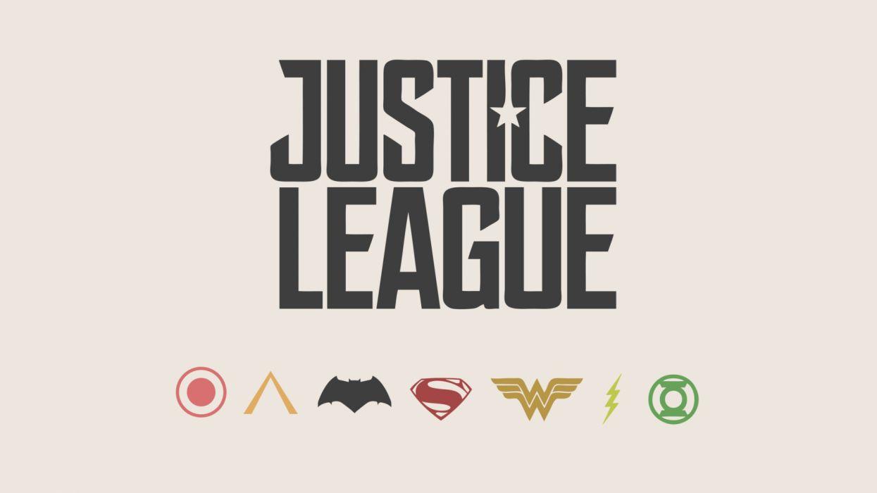 justice league minimalism logos texto wallpaper