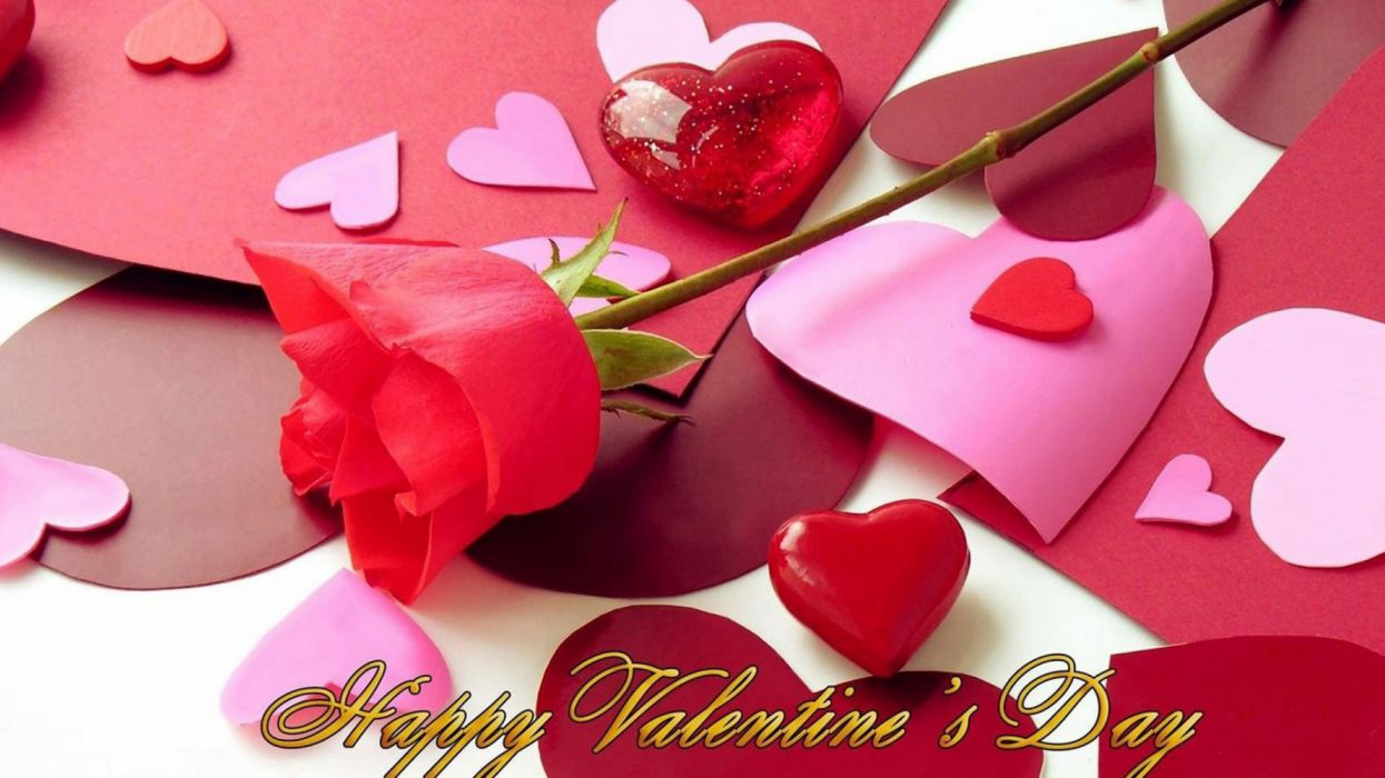 beautiful love heart vatentine s day wallpaper