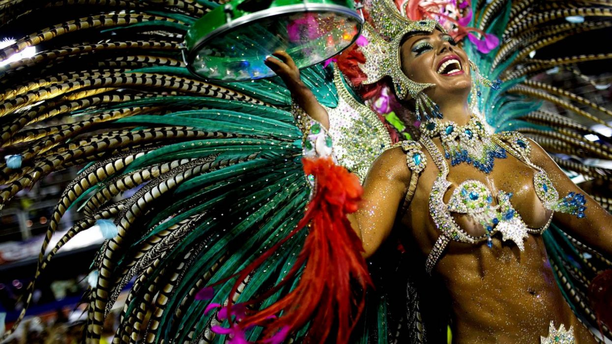 carnival in rio janeiro holiday women dance wallpaper