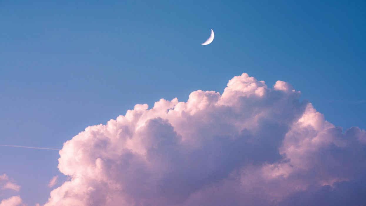 cloud moon sky nature wallpaper