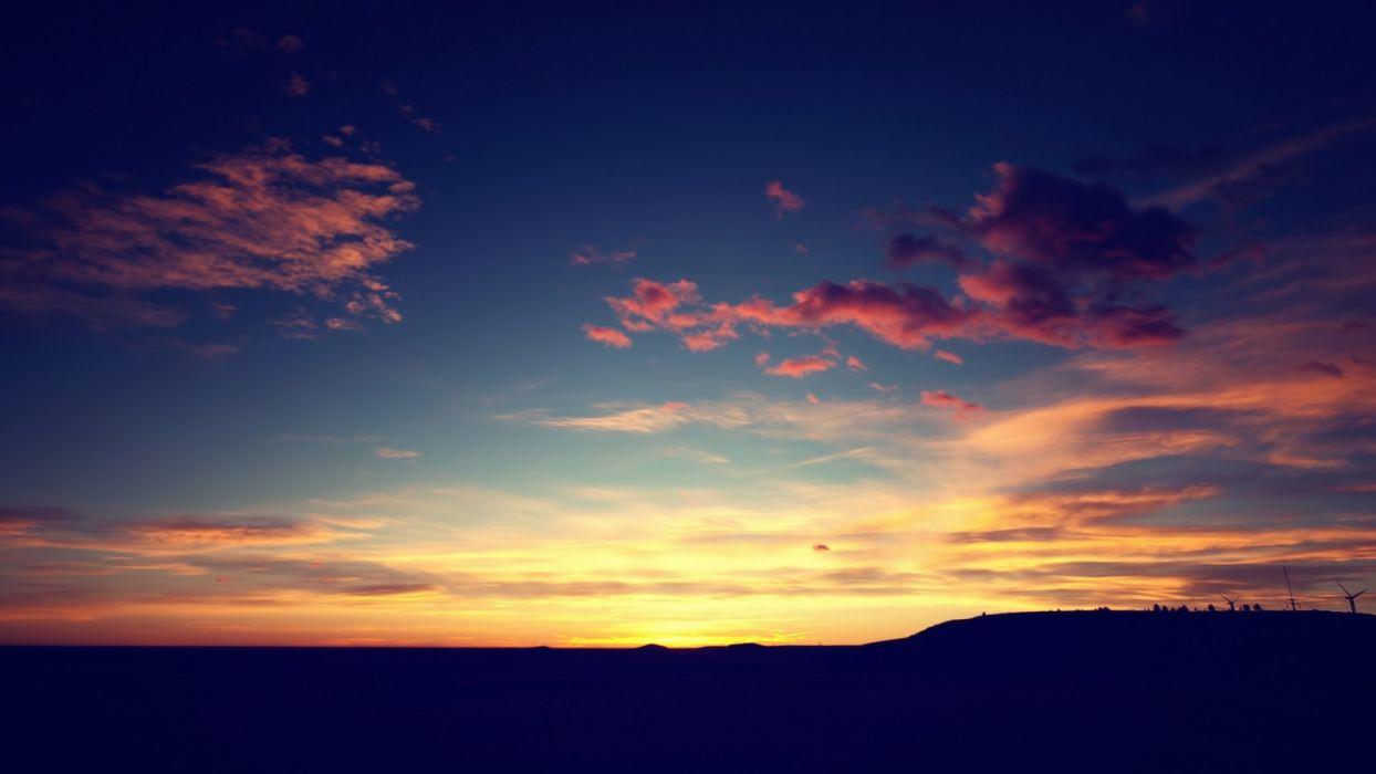 cielo amanecer nubes naturaleza wallpaper