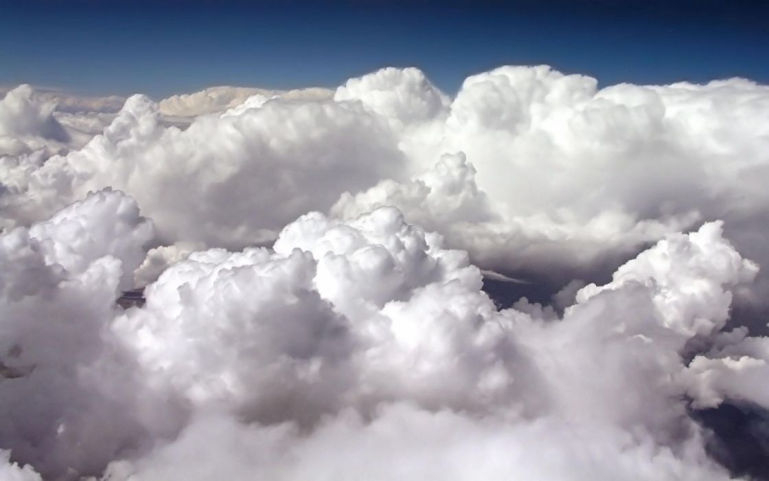 cielo nubes blancas naturaleza wallpaper