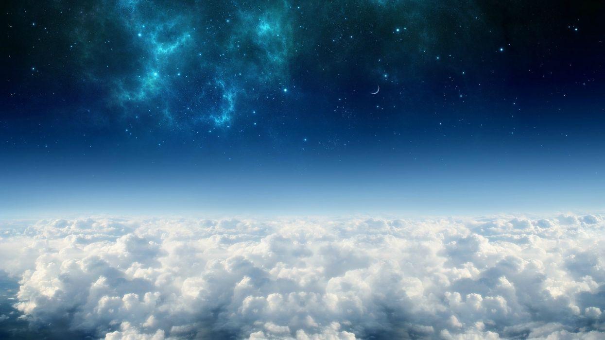 cielo estratosfera nubes naturaleza wallpaper