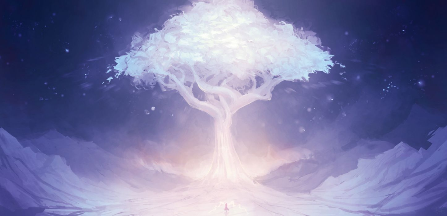 mountains trees people sky night nature drawings wallpaper