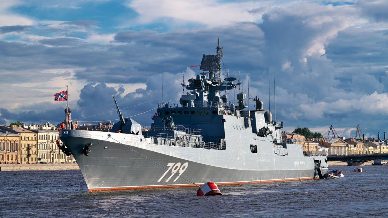 Ships Russian military wallpaper