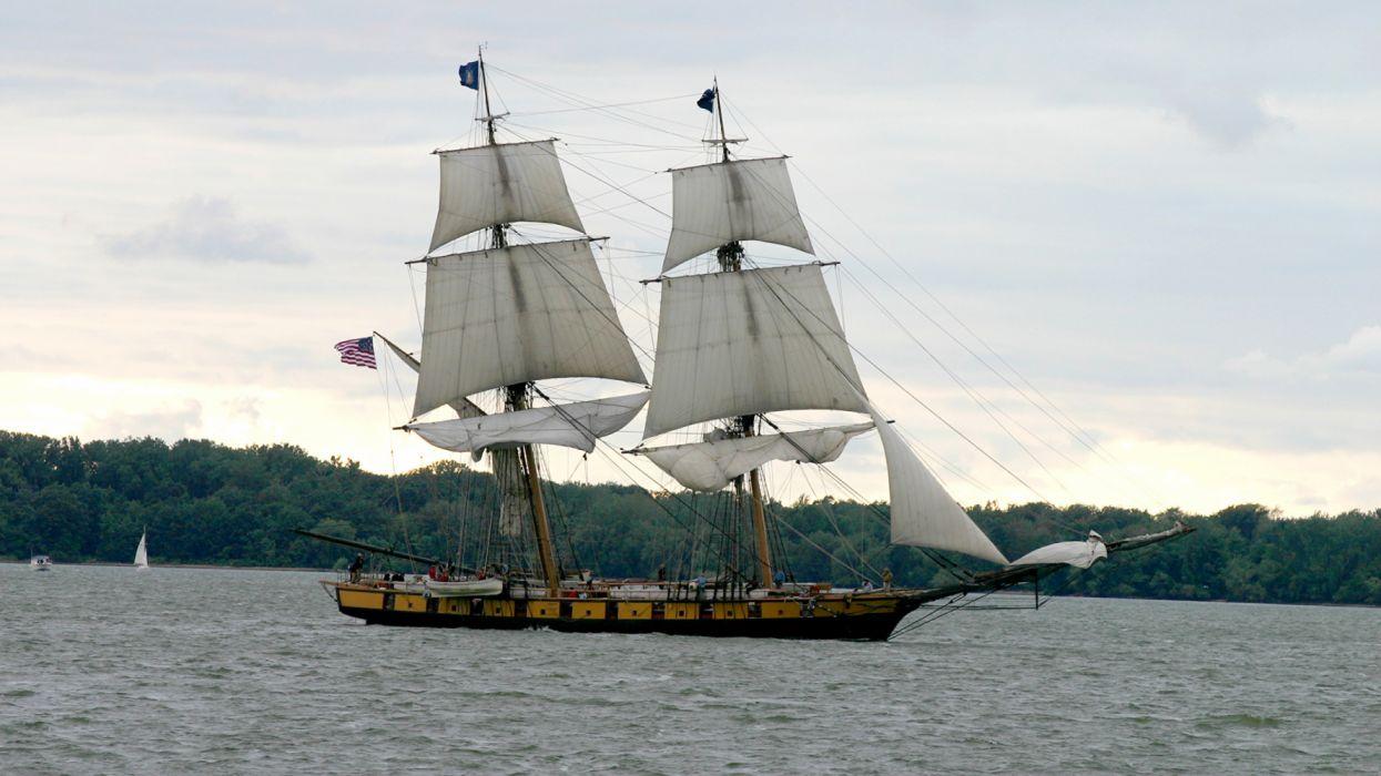 Ships Sailing Sea vehicles wallpaper