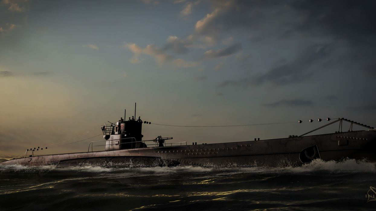 submarino oceano vehiculos wallpaper