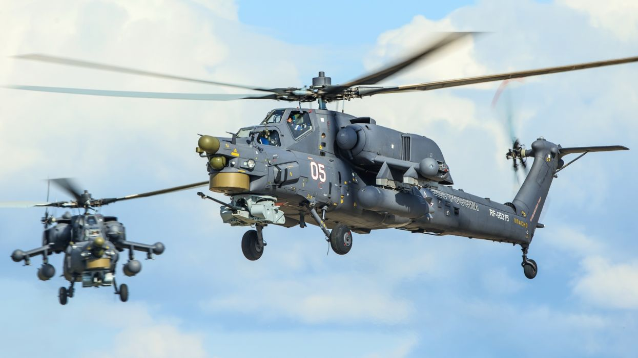 Helicopters Mi 28N Russian wallpaper