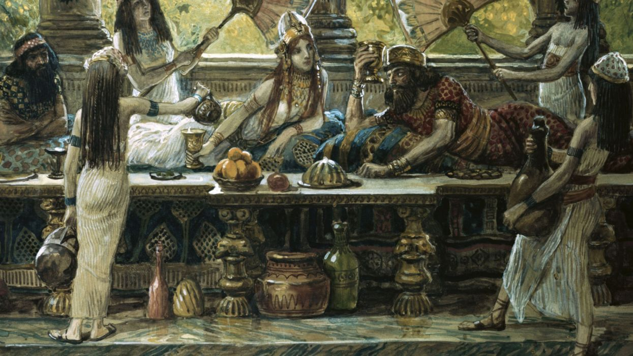 art with the king painting by james tissot wallpaper