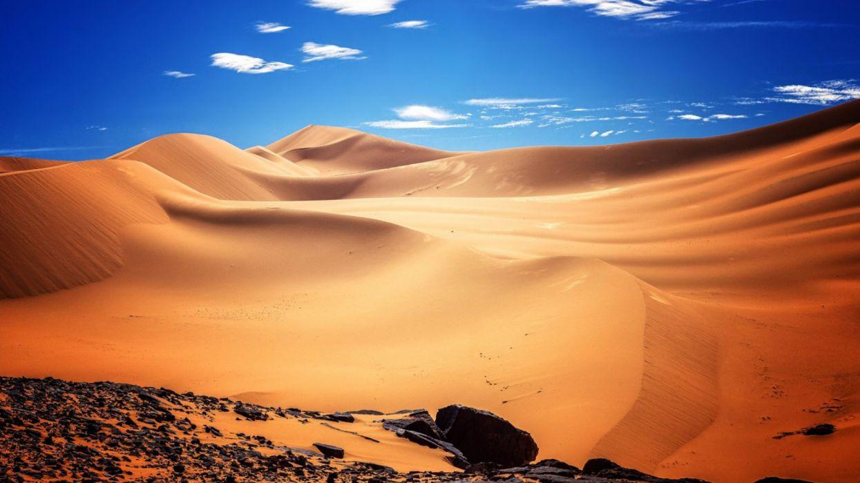 africa algeria desert nature wallpaper