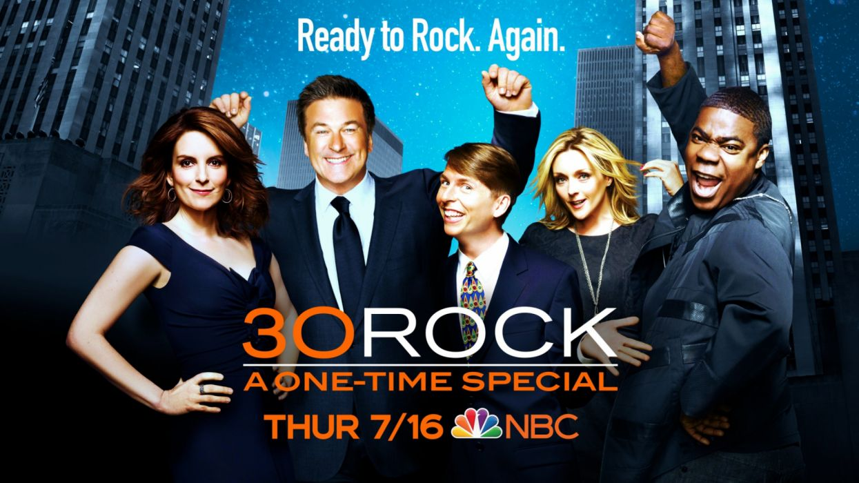 30 Rock serie tv entretenimientos wallpaper