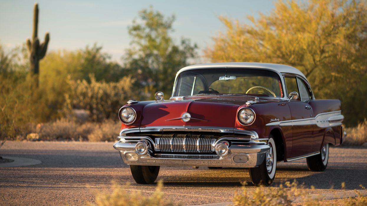 Pontiac Retro 1957 Star Chief Custom Catalina wallpaper