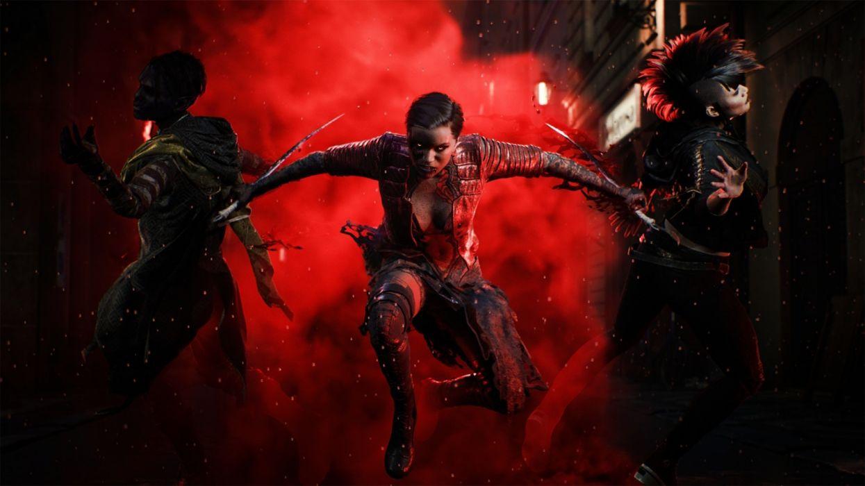 bloodhunt 2021 videogames wallpaper